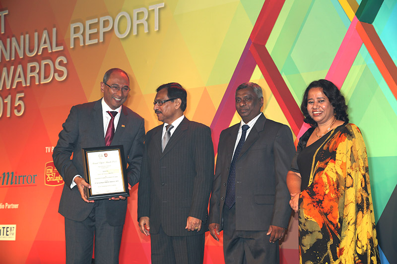 CA Sri Lanka Annual Report Awards
