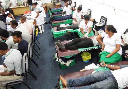 Blood donation campaign 2016